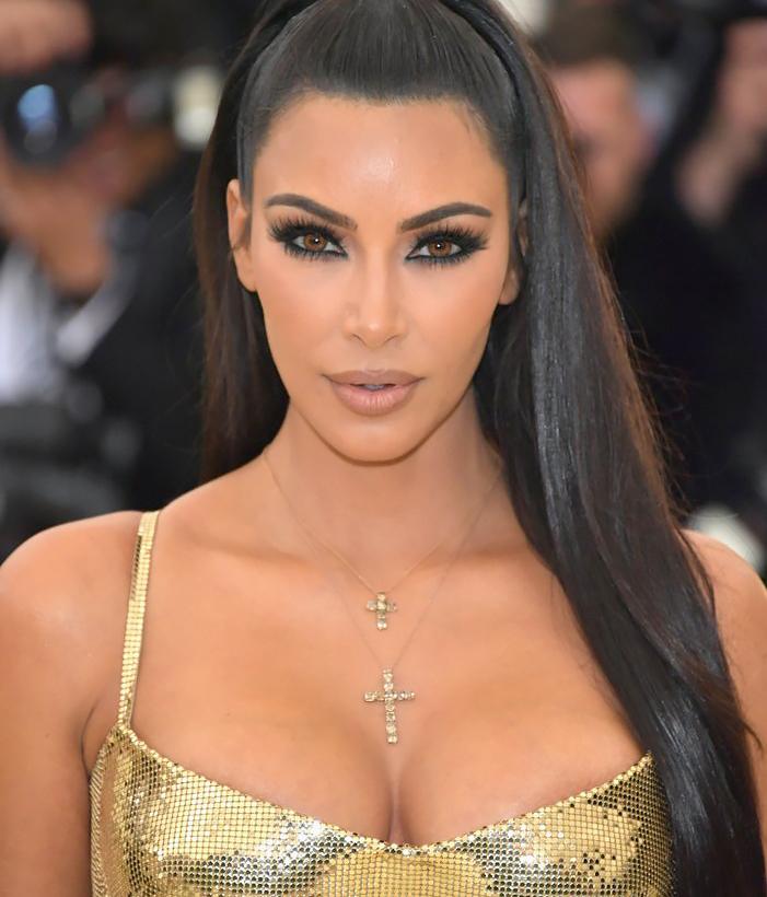 The Secret To Kim Kardashian's Eyes At The Met Gala 2018